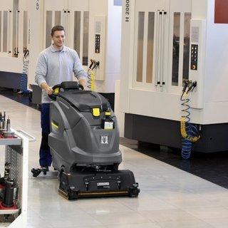 Karcher Large Pedestrian Scrubber Dryer (B80)
